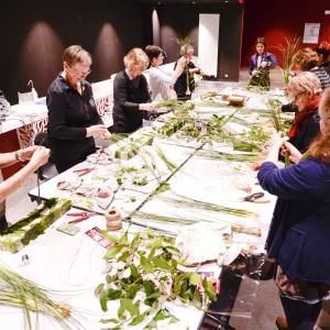 Ateliers d'art floral d'avril à juin: demander le programme !