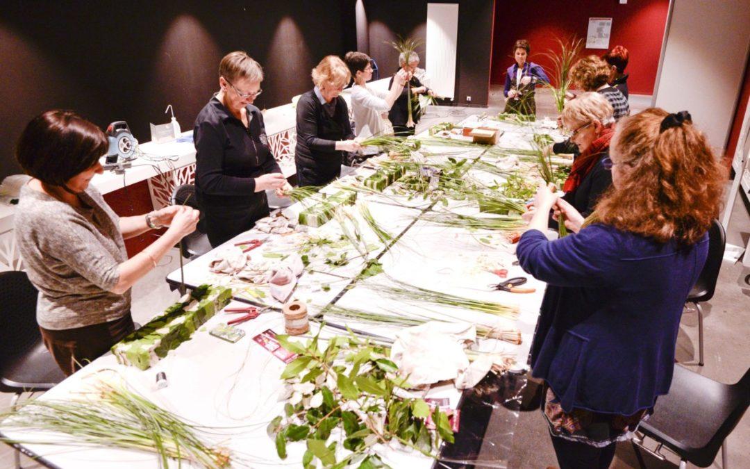 Atelier floral 25 et 26 février 2019